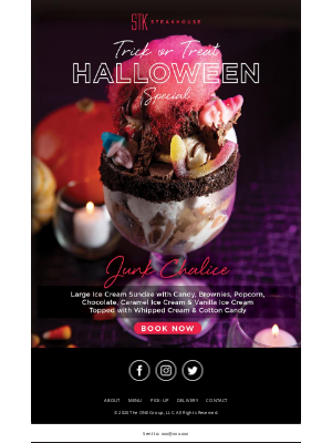 OpenTable - Sweet Treats & Scary Beats – A Very STK Halloween