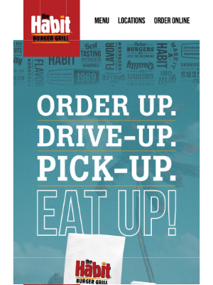 The Habit Burger Grill - Fast. Easy. Curbside Pick-Up!