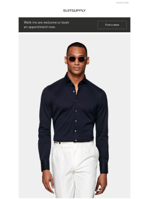 Suitsupply - The Knitted Shirt: Ultra soft with natural stretch