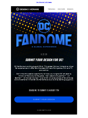 Submit Your Design For DC!