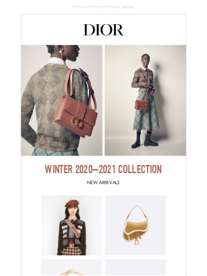 Dior - Prepare Your Winter Look