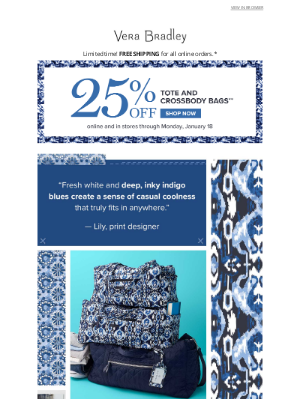 Vera Bradley - You heard right: NEW Ikat Island is here!