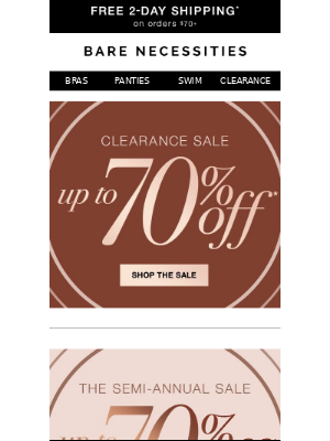 Lowest Prices of the Season | Clearance up to 70% Off