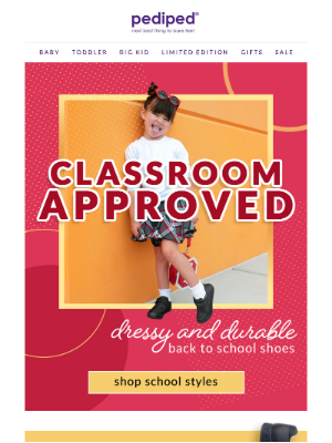 Pediped - School-Approved Shoes for Kids