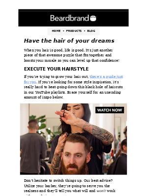 Beardbrand Bootcamp [Day 3]