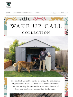 VISSLA - Wake Up Call Collection