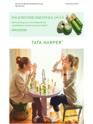 Tata Harper Skincare - Your Power Product 💚