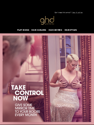 ghd (UK) - How often do you check your breasts? 💕