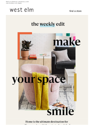 The Weekly Edit: How to happy-ify your home