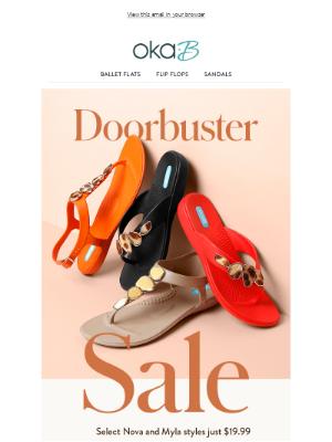 Today Only - Doorbuster Sale!