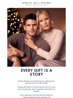 Daniel Wellington - Every gift is a story