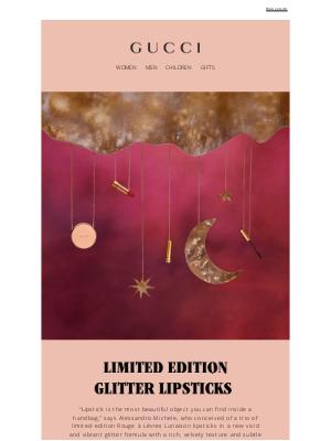Gucci (UK) - New Rouge à Lèvres Lunaison: Limited Edition