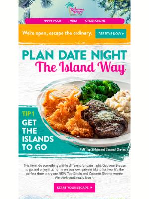 Bahama Breeze - An Island for two, please.