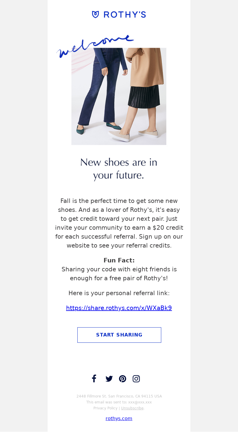 Rothy's - Want to get Rothy's credit?