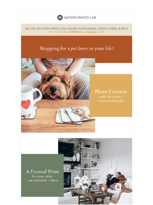 Nations Photo Lab - For the pet lover in your life, get…