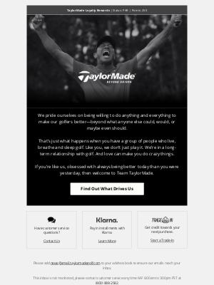 TaylorMade Golf - Beyond Driven