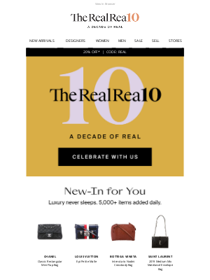 The RealReal - Find Your Real