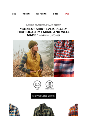 Orvis - Must-haves for a new season.