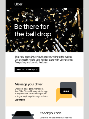 Ring in the new year with Uber