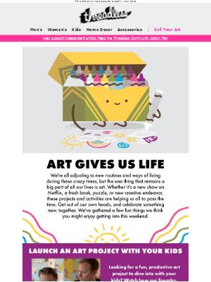 Art Gives us Life 🎨