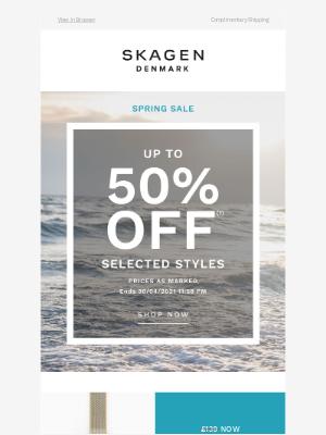 Skagen - Open & Save up to 50%...