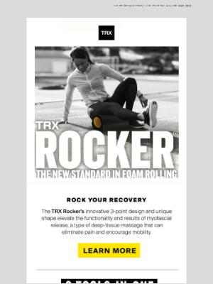 Move it or Lose it with the TRX ROCKER