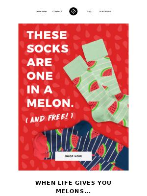 🍉FREE Socks For Summer!🍉