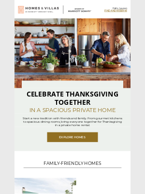 Gaylord Hotels - Wish you could gather everyone together for Thanksgiving?