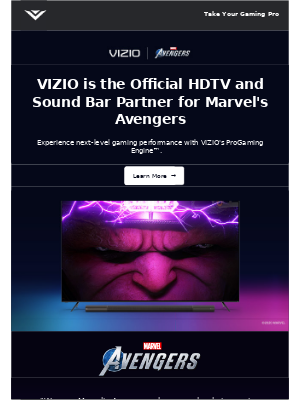VIZIO - We're Taking Gaming to the Next-Level