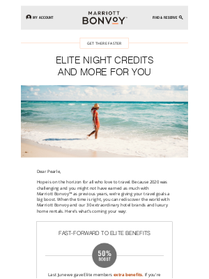 Gaylord Hotels - Extra Benefits for You: More Elite Night Credits for 2021