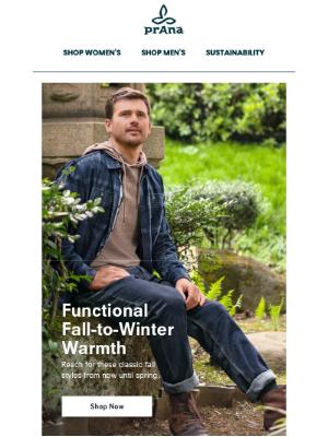Fall-to-Winter Wear