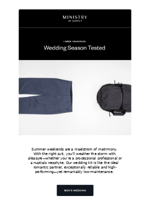Wedding Season Tested