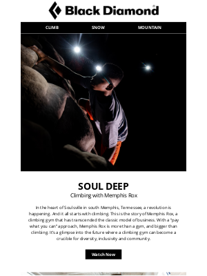 Black Diamond Equipment - Soul Deep: Climbing in the Heart of Soulsville with Memphis Rox