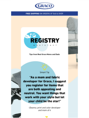 Graco Baby Products - Can you register for style and function?