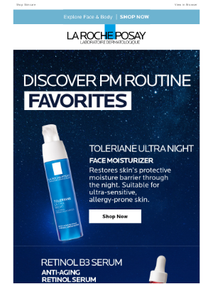La Roche-Posay - Refresh Your Nighttime Skincare Routine