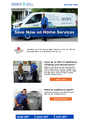 Sears Home Services is ready to serve you!