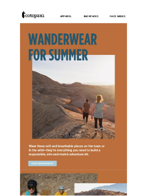 Cotopaxi - Adventure Everyday with Wanderwear