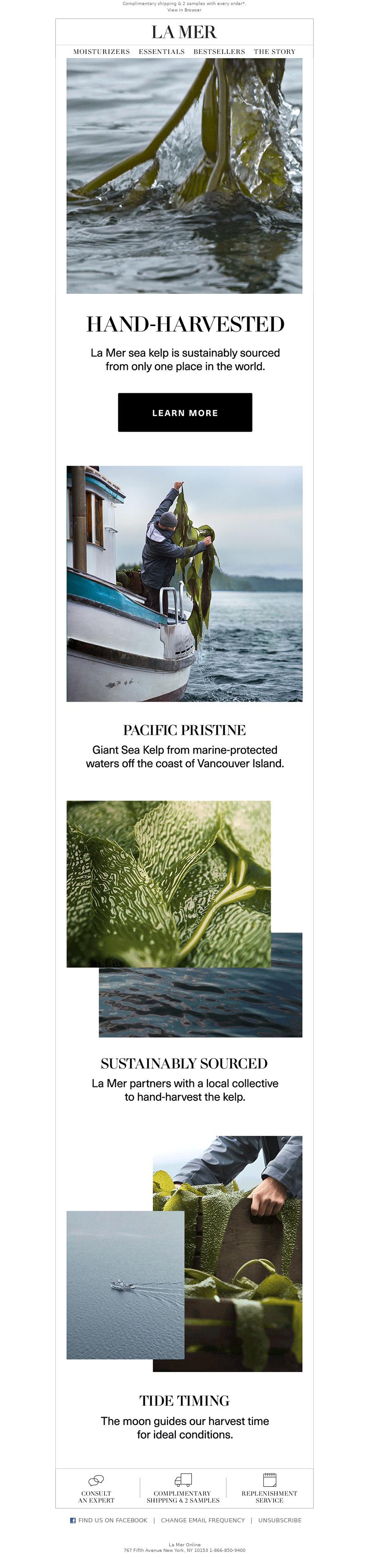La Mer - Discover the Kelp Harvest
