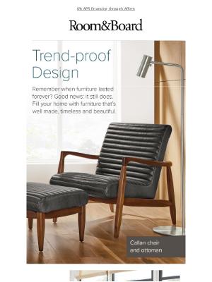 Room & Board - Five trend-proof favorites