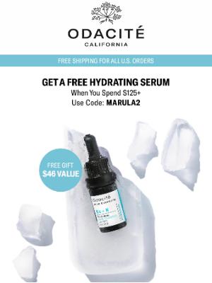 Odacité - FREE Dry Skin Savior Today 💧