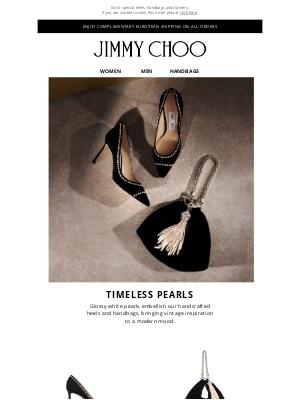 Jimmy Choo - Timeless Pearls