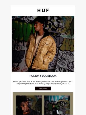 HUF Worldwide - Holiday 20 Lookbook