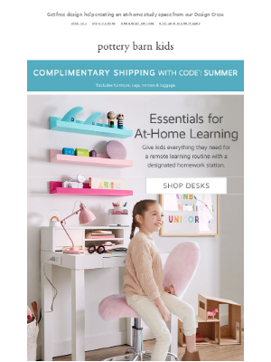 Pottery Barn Kids - School at Home? Our Best Ideas