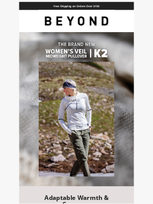 NEW: Women's Veil K2 Midweight Pullover