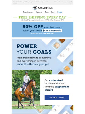SmartPak Equine - Power Your 2021 Goals With The Right Support