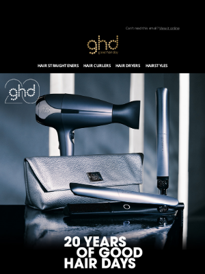 ghd (UK) - EXCLUSIVE: 20% off* is waiting for you...
