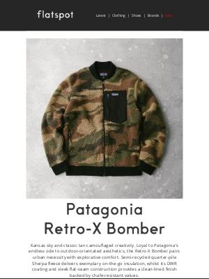 Flatspot - Patagonia Retro-X Bomber Jacket - Available Now