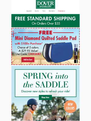 Dover Saddlery - Discover New Styles to Refresh Your Ride