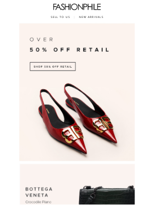 FASHIONPHILE - Over 50% Off Retail Prices