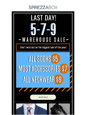 SprezzaBox - ENDS TODAY: Pre-Black Friday Sale!